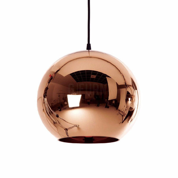 Dixon Copper Shade Lamp