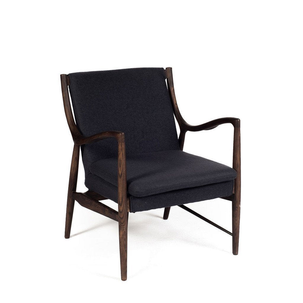 Wanscher OW149 Chair Charcoal