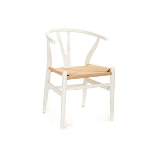 CH24 Wishbone Chair white
