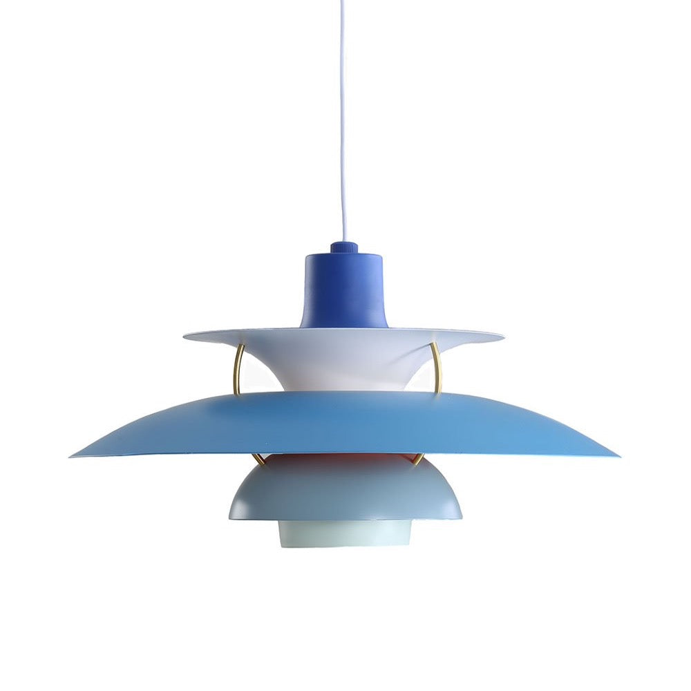 Henningsen PH5 Pendant Lamp - Blue