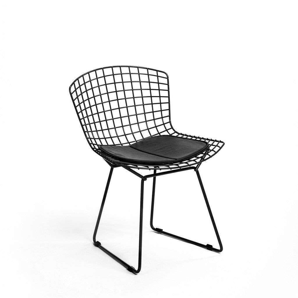 Black Bertoia Side Chair