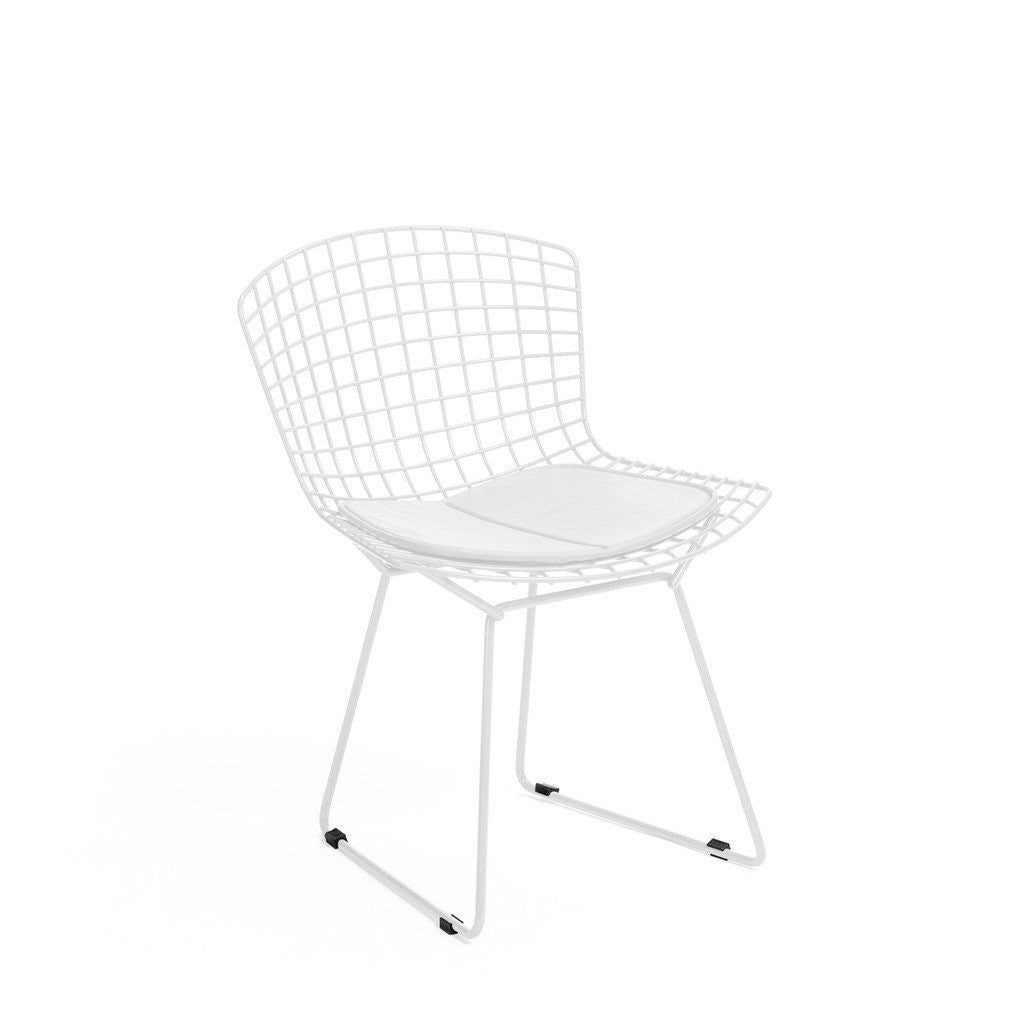 White Bertoia Side Chair