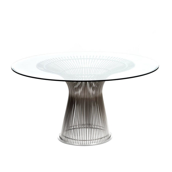 Platner Dining Table Nickel