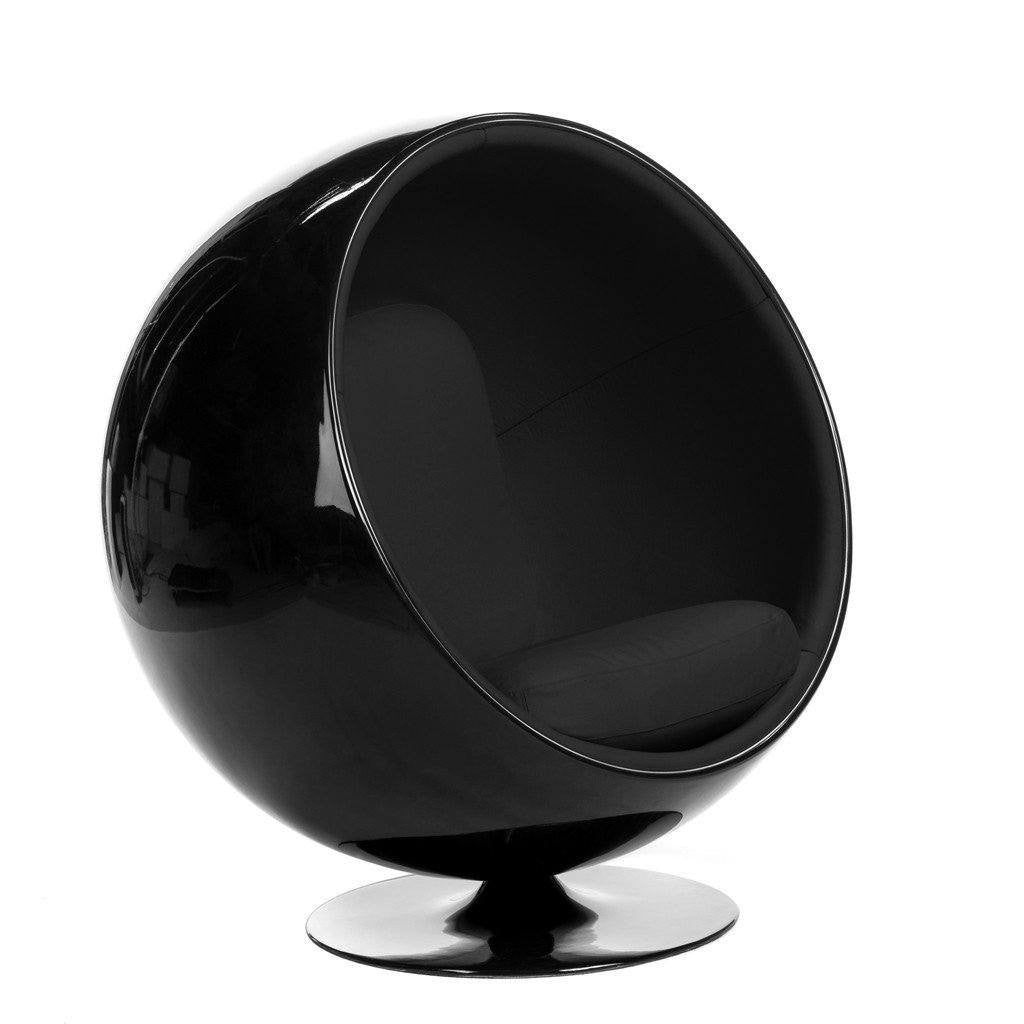 Eero Aarnio Ball Chair Black/Charcoal