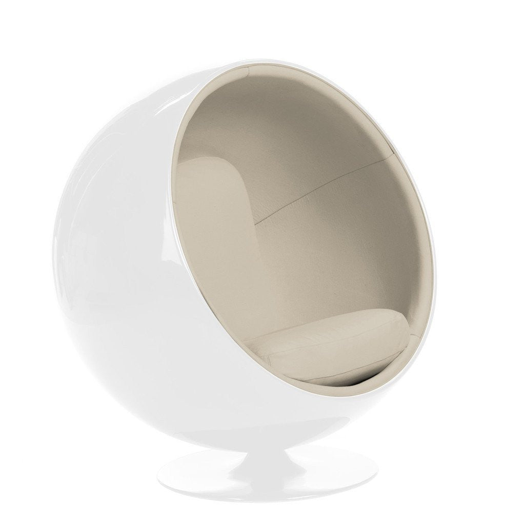 Eero Aarnio Ball Chair White/Beige