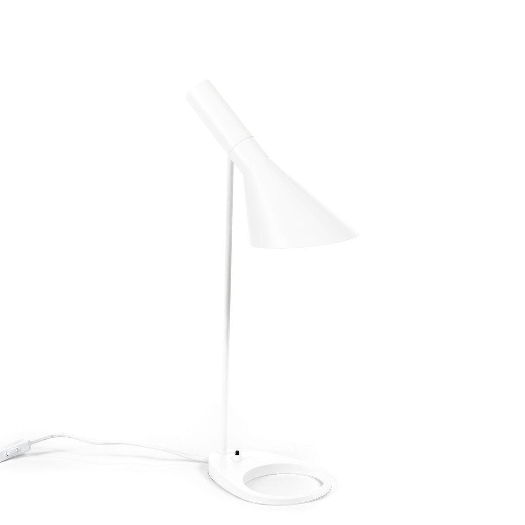 White Jacobsen AJ Table Lamp