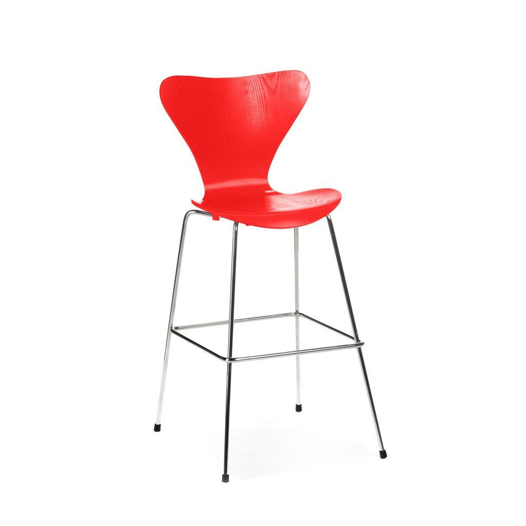 Jacobsen Series 7 Stool in red