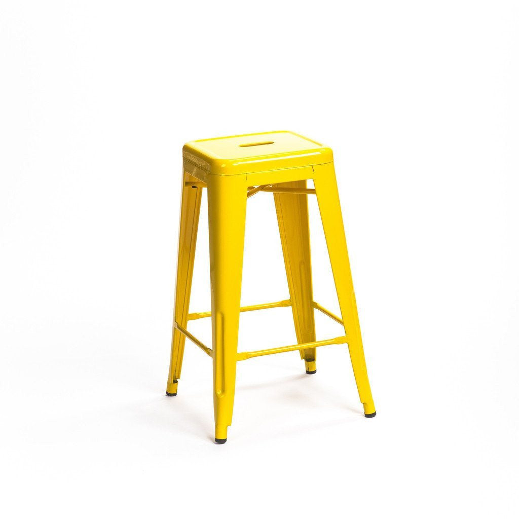 Tolix Stool Yellow