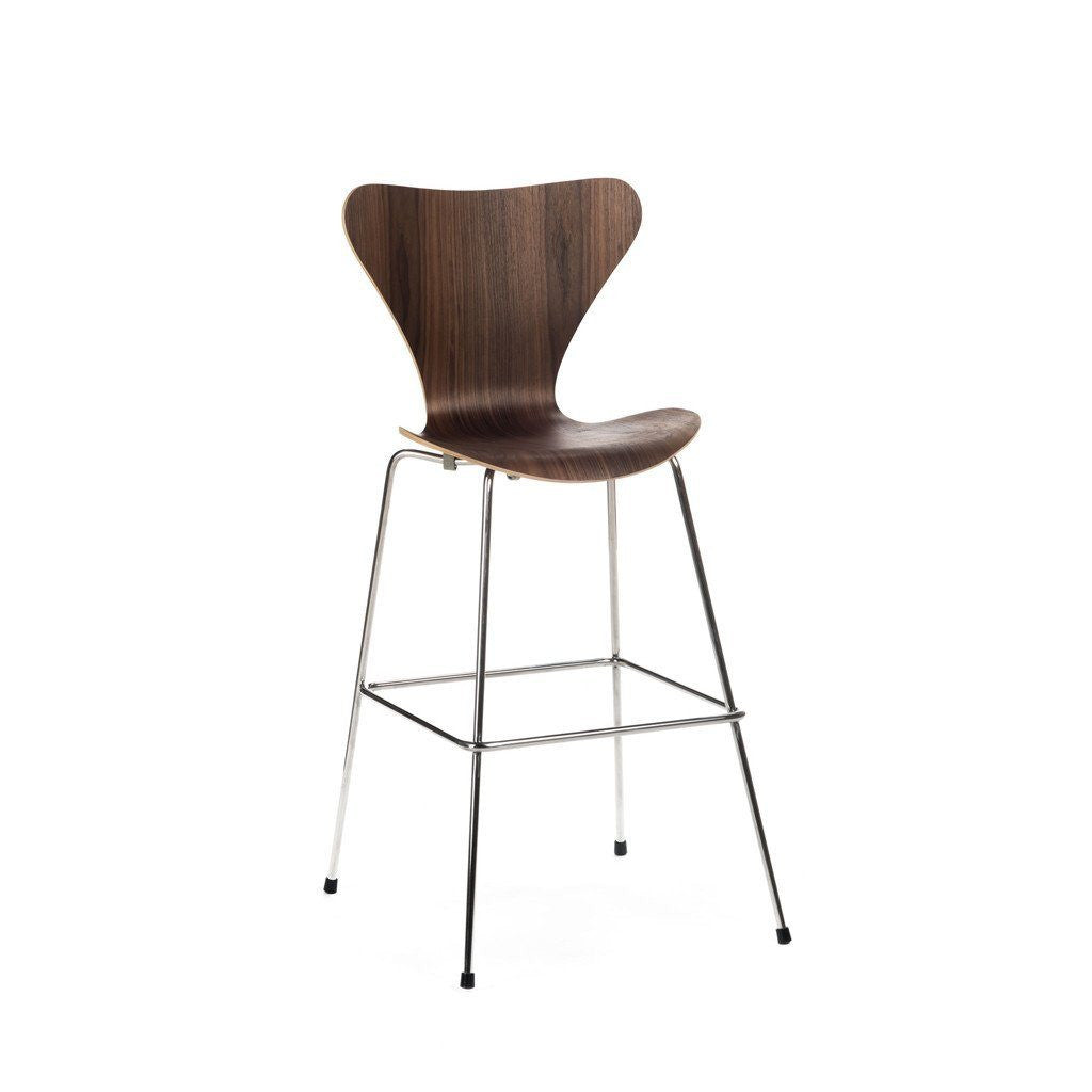 Jacobsen Series 7 Stool in walnut
