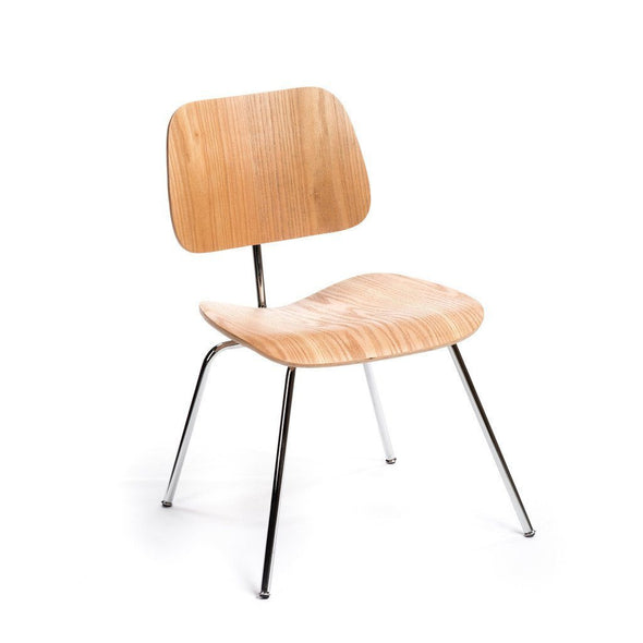 Natural Eames DCM Chair