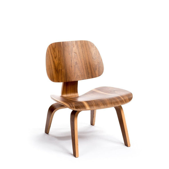 Walnut Eames LCW Chair