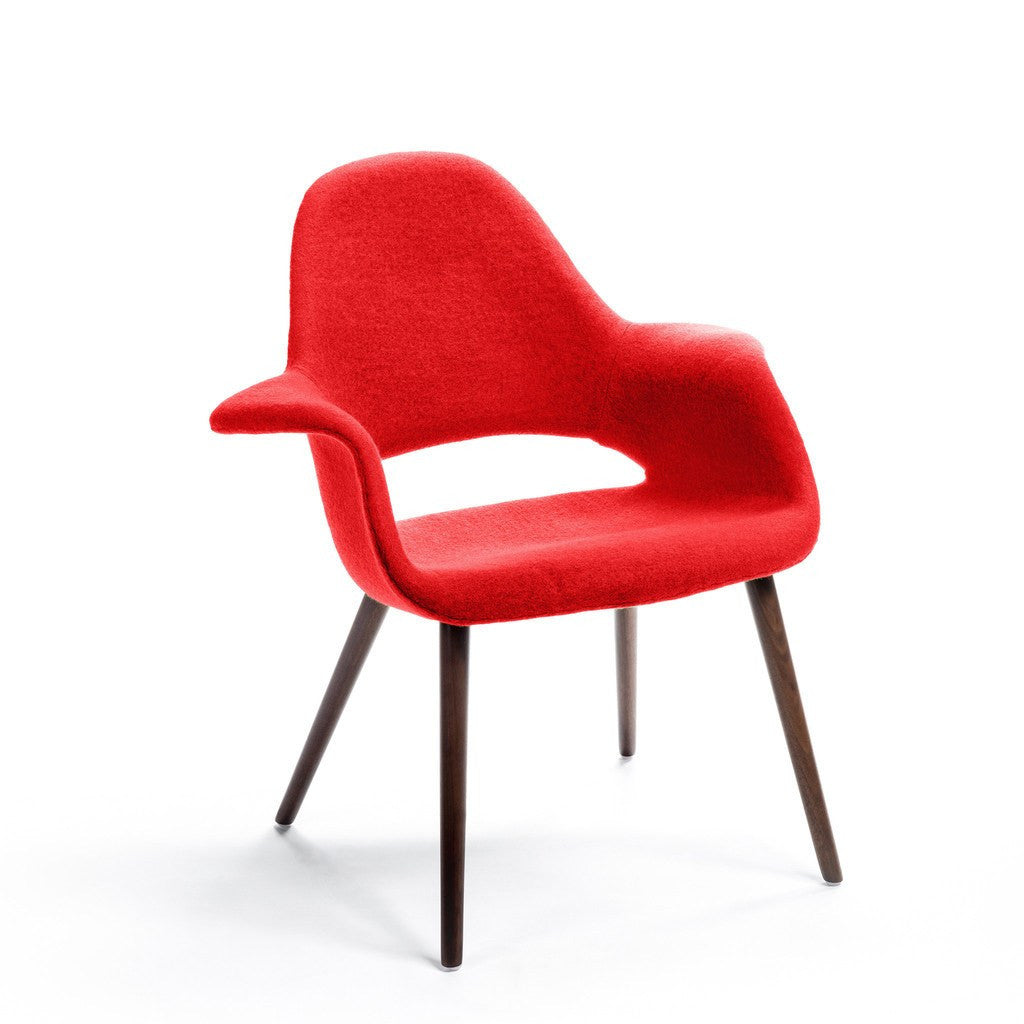 Red Eames-Saarinen Organic Chair