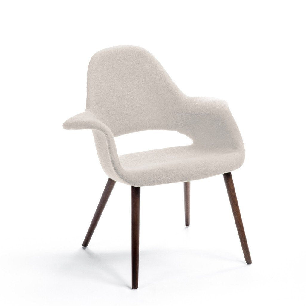 Beige Eames-Saarinen Organic Chair