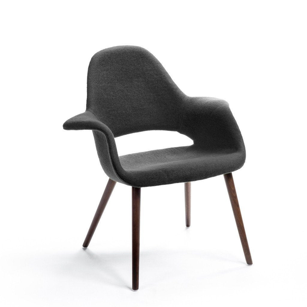 Grey Eames-Saarinen Organic Chair