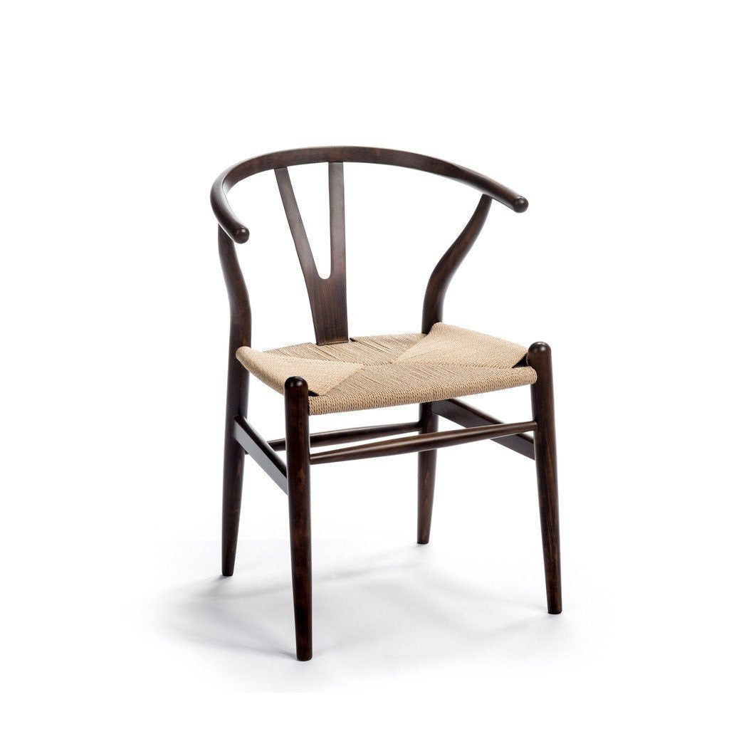 CH24 Wishbone Chair espresso