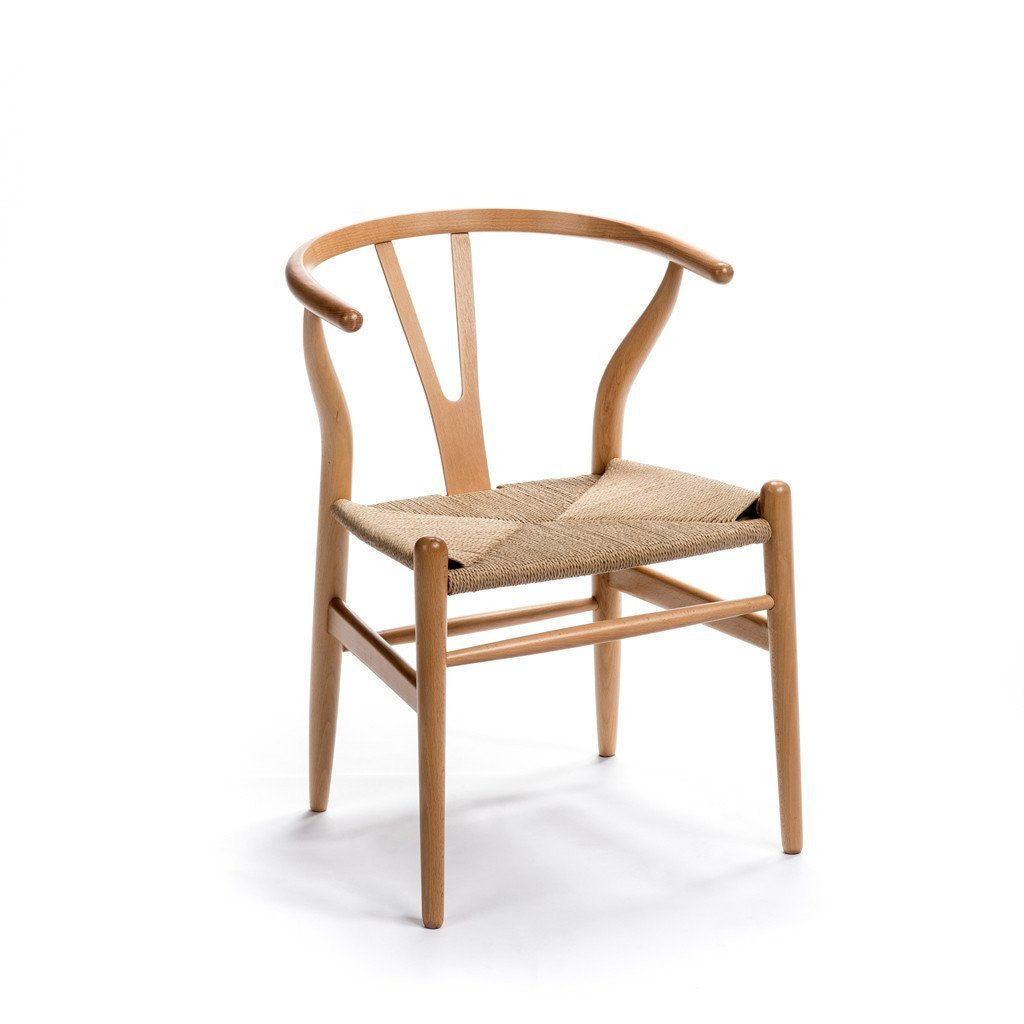 CH24 Wishbone Chair natural wood