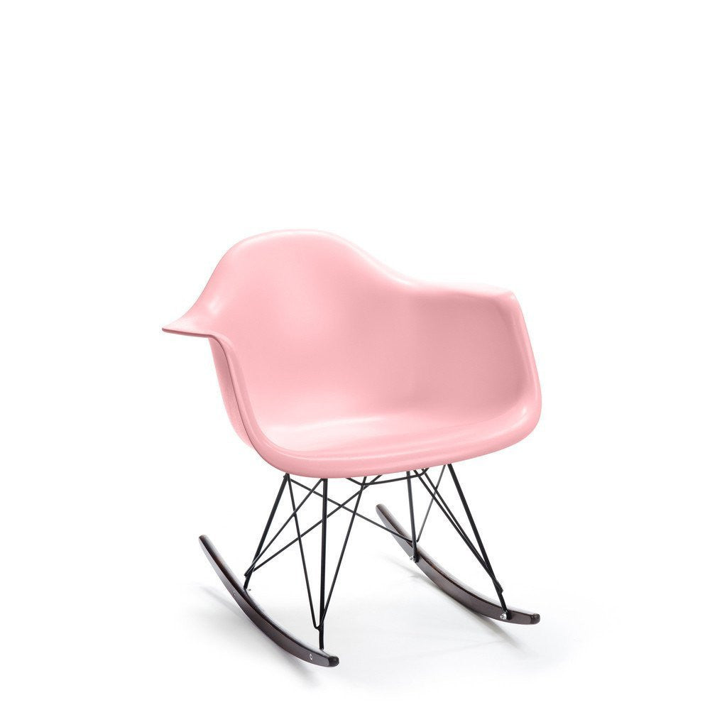 Pink Eames RAR Rocking Chair