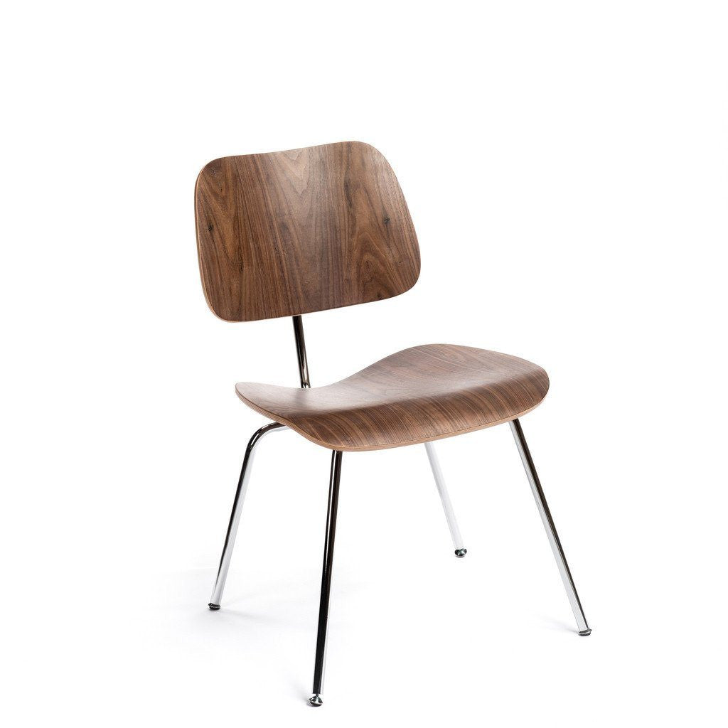 Walnut Eames DCM Chair