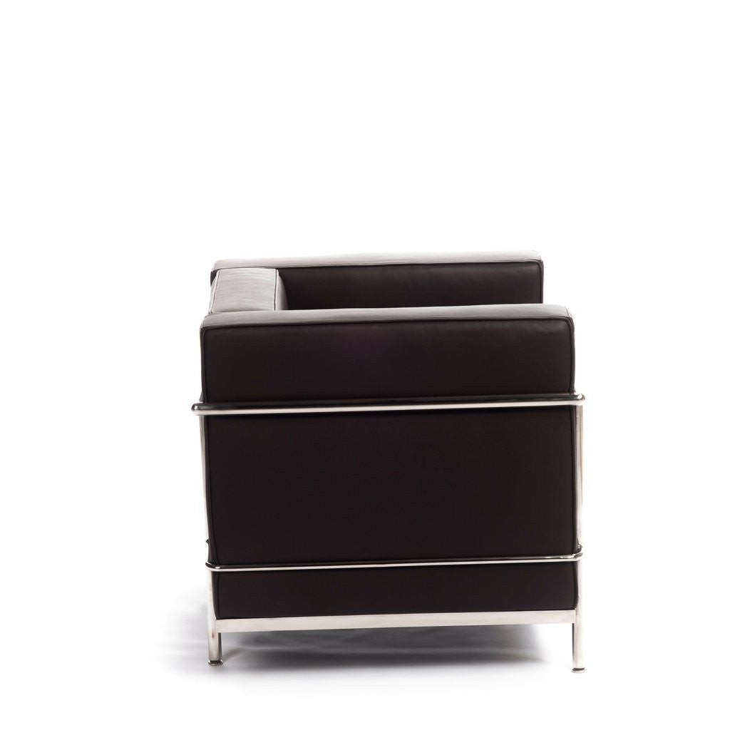 Le Corbusier LC2 Armchair brown leather