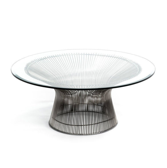 Platner Coffee Table Nickel