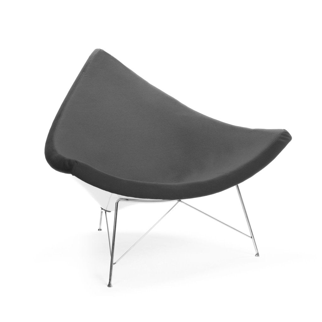 Nelson Coconut Chair grey wool