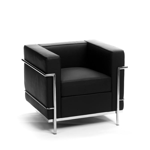 Le Corbusier LC2 Armchair black leather