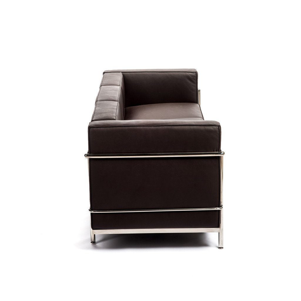 Le Corbusier LC2 Sofa brown leather