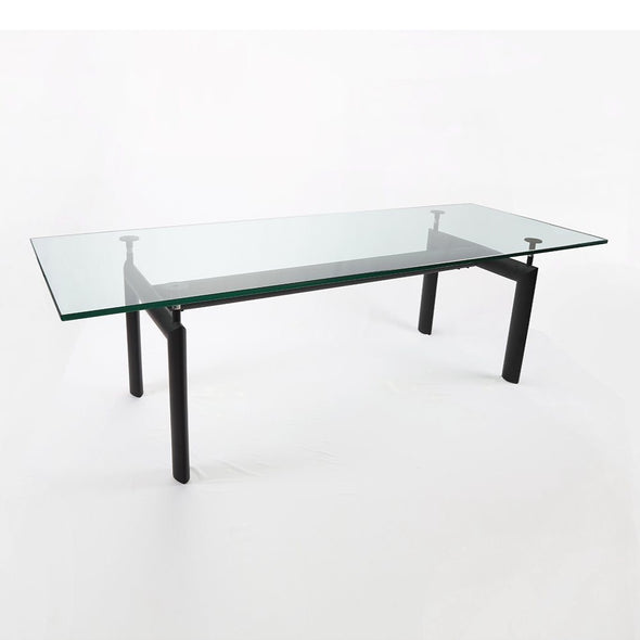lc6 dining table glass