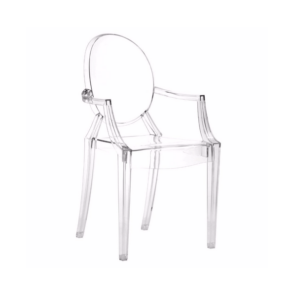 Louis Ghost Chair clear