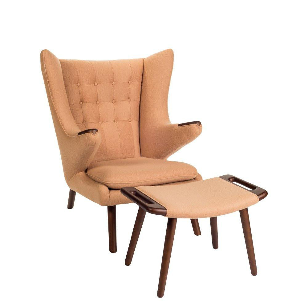 Wegner Papa Bear Chair Camel