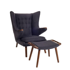 Wegner Papa Bear Chair Charcoal