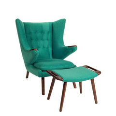Wegner Papa Bear Chair Mint
