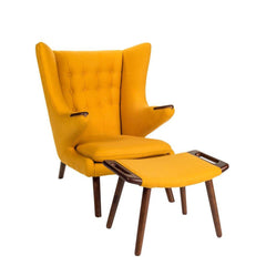 Wegner Papa Bear Chair Yellow