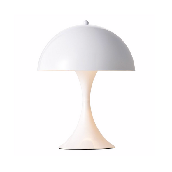 Panton Panthella Table Lamp White
