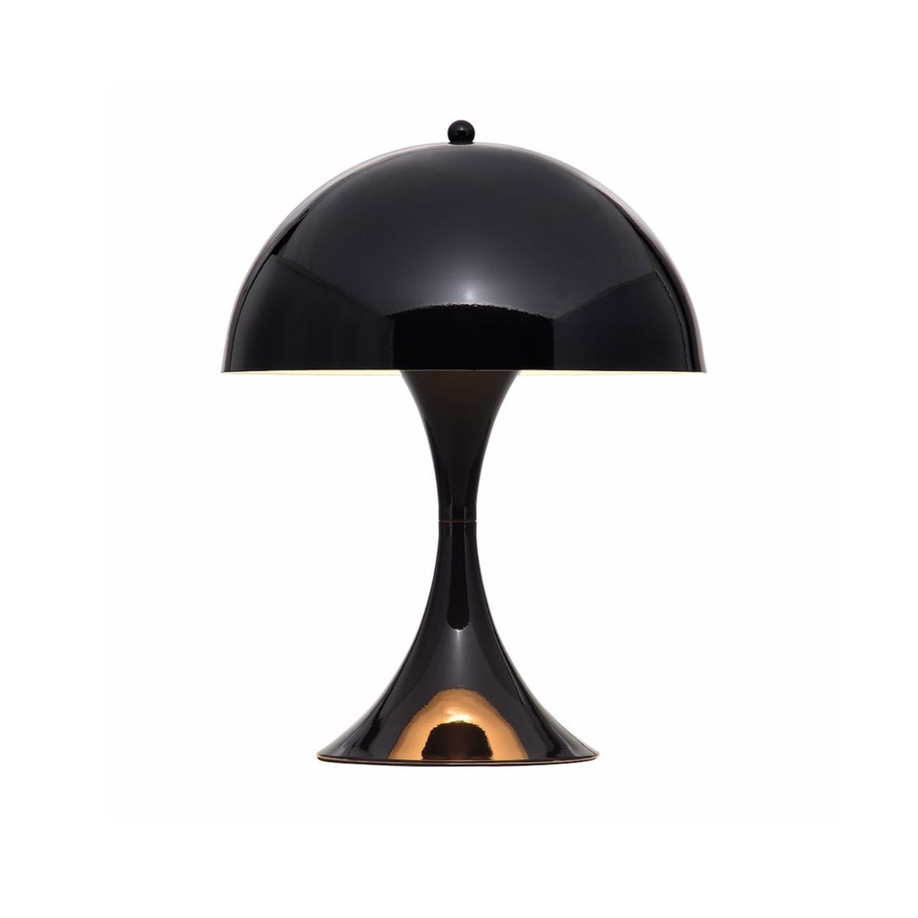 Panton Panthella Table Lamp Black