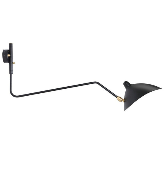 Serge Mouille One-Arm Rotating Wall Lamp