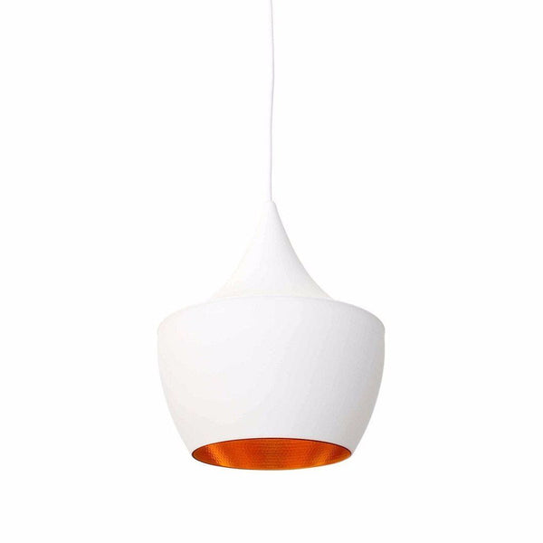 Dixon Beat Lamp Fat White