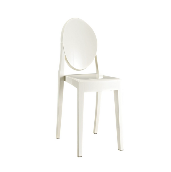 Victoria Ghost Chair - Cream