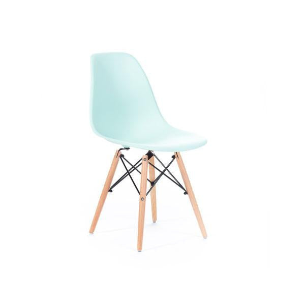 Eames DSW Ice Blue