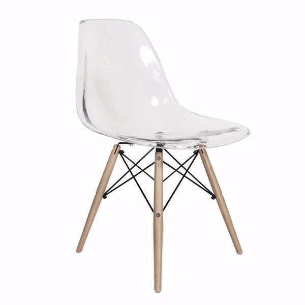 Eames DSW Chair - Clear
