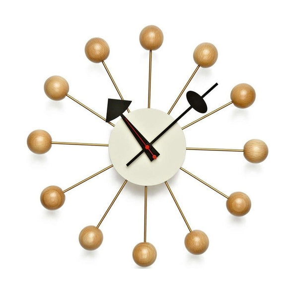 Nelson Ball Clock Natural