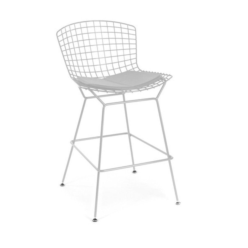 White Bertoia Counter Stool