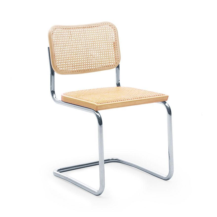 Cesca side chair natural