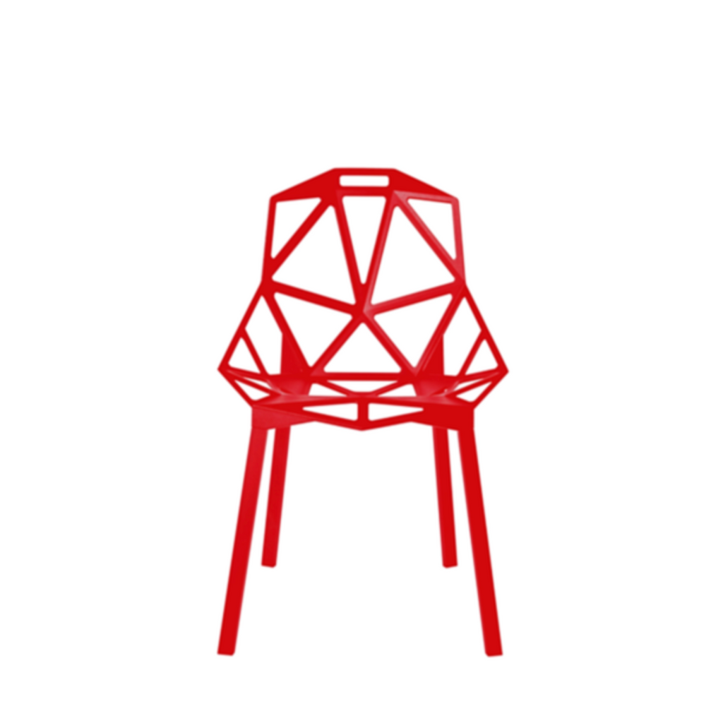 chair one red