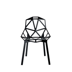 chair one black_front