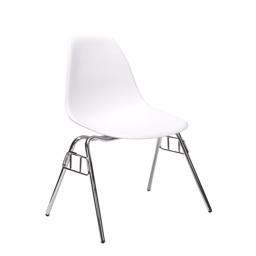 White Eames DSS Chair