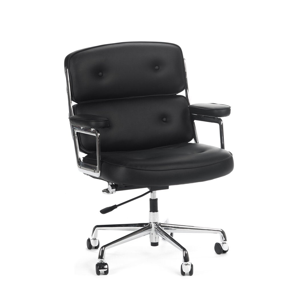 eames executive office chair black