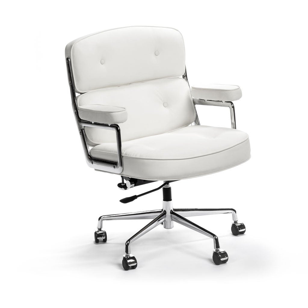 eames executive office chair white