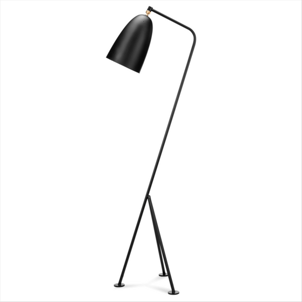 Grasshopper Floor Lamp Black