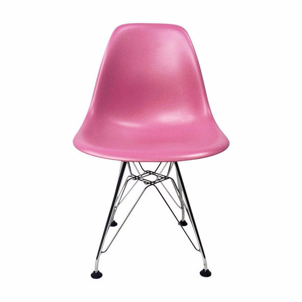 Pink Eames DSR Chair for Kids